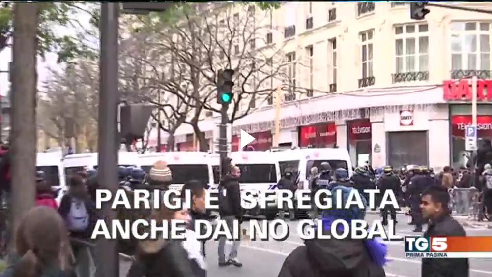 La #marciaperilclima e l'antica passione dei media per la violenza di piazza