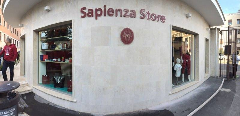 Inaugurato il Sapienza Store