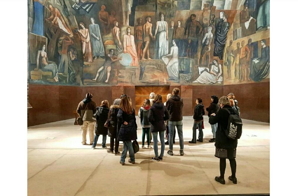 L'Italia tra le Arti e le Scienze, capolavoro di Sironi, ci porta alla scoperta della nostra università