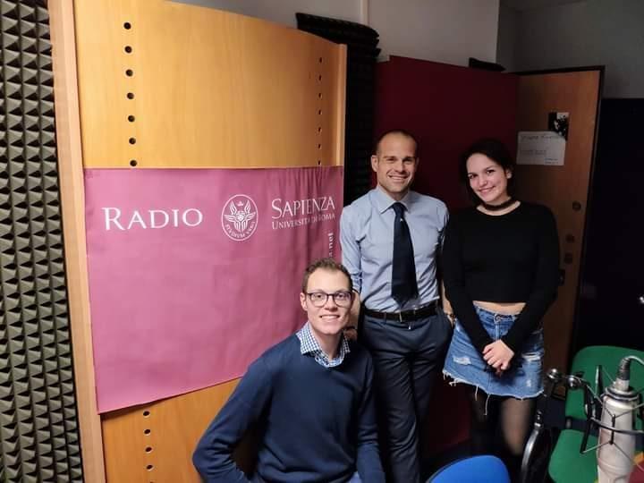 La Nazionale Italiana Rugby a Radio Sapienza per presentare il Sei Nazioni
